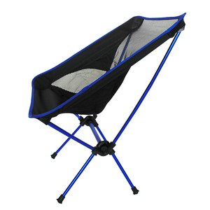 Image 1 - Free Shipping car Outdoor Stack Portable Foldable Stool Fishing Thickened Beach Camping Chair LOAD 145KG