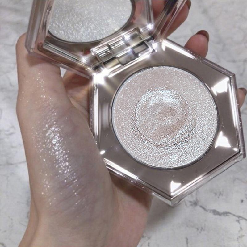 Rihanna Facial Highlighter Bronzer Palette Makeup Glow Kit Face Body Contour Highlight Shimmer Powder Diamond Bomb Illuminator