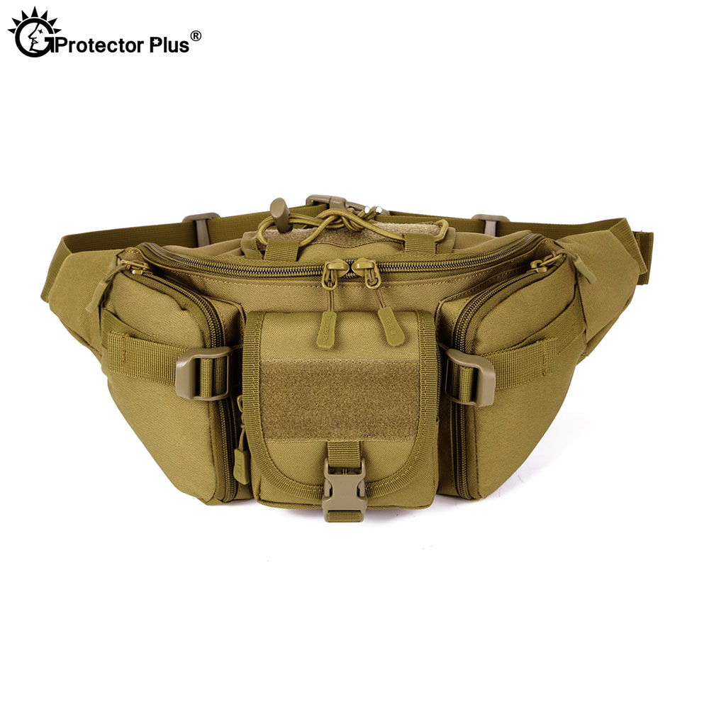 PROTECTOR PLUS Tactical Bag Military Style MOLLE System Camping bag Waterproof Camo Waist bag Outdoor Fishing Sports Cycling PROTECTOR PLUS Tactical Bag Military Style MOLLE System Camping bag Waterproof Camo Waist bag Outdoor Fishing Sports Cycling