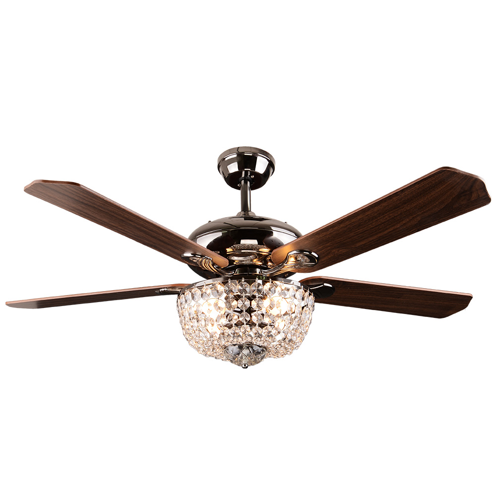 Lighting Fans: Crystal Ceiling Fan Light Rustic Ceiling Fan Light SF60