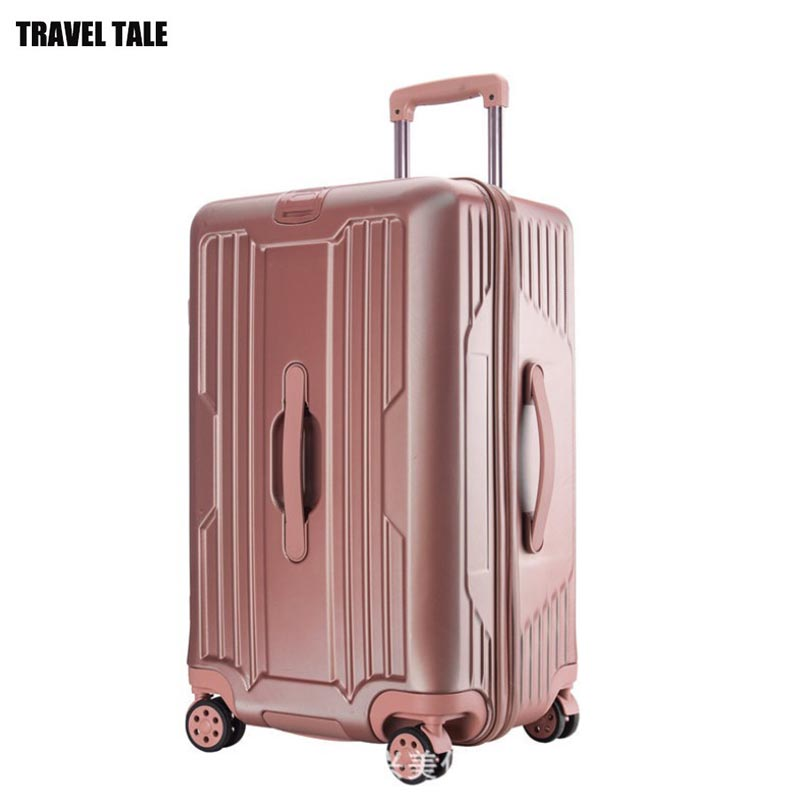 Rolling-Luggage-Bag Wheel Travel-Suitcase Large Trolley Hard-Side Spinner 30--Inch NEW