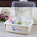 No smell Clear Cover Baby bottles stand clamshell bin baby bottle drying rack store drying rack cutlery boxes