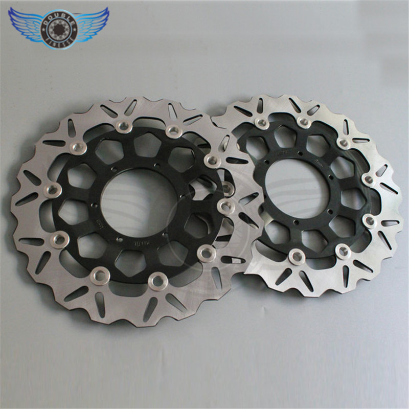 hot selling  2 pieces motorcycle Accessories Front Brake Discs Rotor FOR Honda CB1300 2003 2004 2005 2006 2007 2008 2009 motorcycle accessories front brake discs rotor for suzuki gsf1200 2006 06 motorbike accessories front brake cn