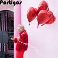 5 шт. 18 дюймов комплект однотонной одежды красного цвета в форме сердца воздушные шары из фольги love Свадебная вечеринка Декор металлик гелия надувные globos брак i love you воздушные шары - фото