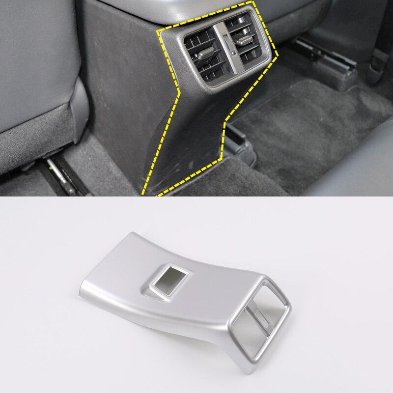 Voiture style ABS intérieur arrière accoudoir boîte évent sortie couverture autocollants 1 pièces pour Lexus UX 2018 2019 Auto accessoire
