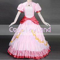 Princess Peach Costume Women Adult Halloween Costumes Super Mario bros and luigi Cosplay Pink Party Cosplay Costume