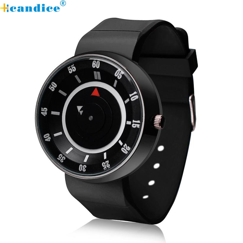 Hcandice Perfect Gift Fashion men s watch Luxury clock Concept Stainless Steel Analog Quartz watch Sport