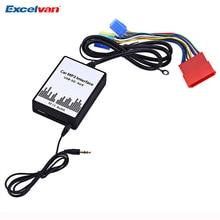 Автомобиль MP3 Интерфейс DC 12 В USB SD данных кабель AUX адаптер 8 pin аудио цифровой cd-чейнджер для Audi a2 A3 A4 S4 A6 S6 A8 S8