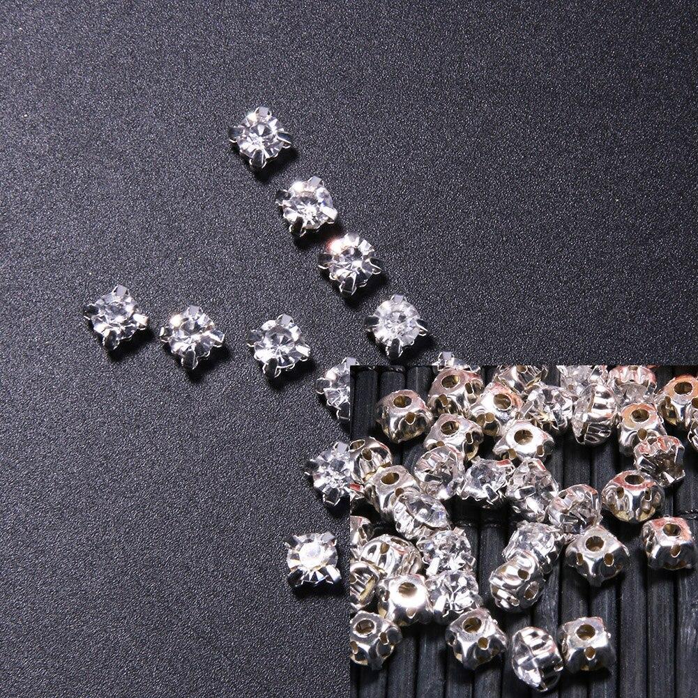 1440/720 unids/lote 4/5/mm Pedrería de Cristal de Diamante de Acrílico Del Banqu