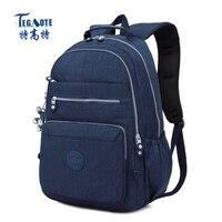 TEGAOTE 2017 Newest School Backpack For Teenage Girl Mochila Feminina Women Backpack Nylon Waterproof Bagpack Female