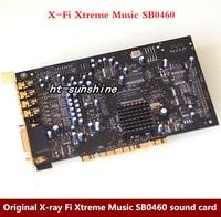 Original X Ray Fi Xtreme Music SB0460 Sound Card 7 1 Soundcard DTS Decoding Gold Plated
