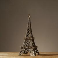 Европейский село Стиль Ретро ручной работы гладить Art Эйфелева башня старинные ностальгический ремесло Роскошные домашний интерьер Decor баш