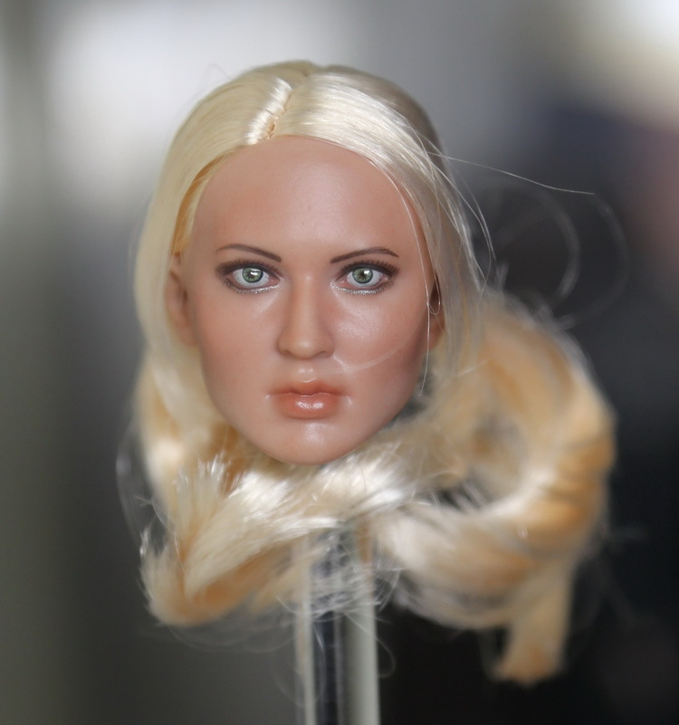 ФОТО SuckerPunch 1/6 Baby Doll headsculpt for DIY 12inch doll Parts Support HT