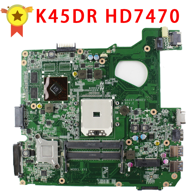 For motherboard A45D A45DR K45D K45DR R400D R400DR Radeon HD 7470M 1 GB 216-0809000 100% tested
