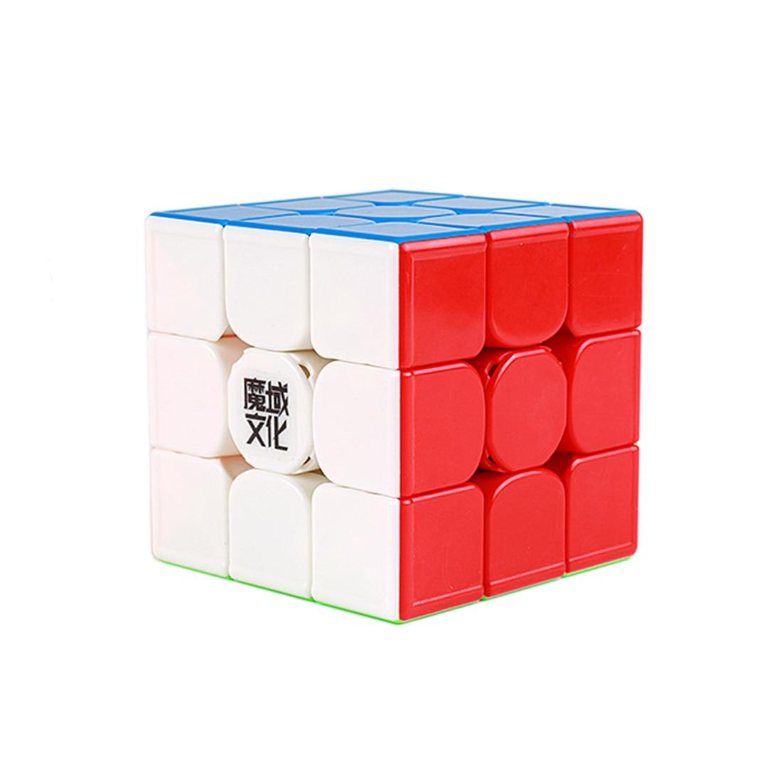 YJ8261 Moyu WeiLong GTS3 LM Version magnétique faible 3x3 Cube magique jouets éducatifs pour l'entraînement du cerveau-coloré