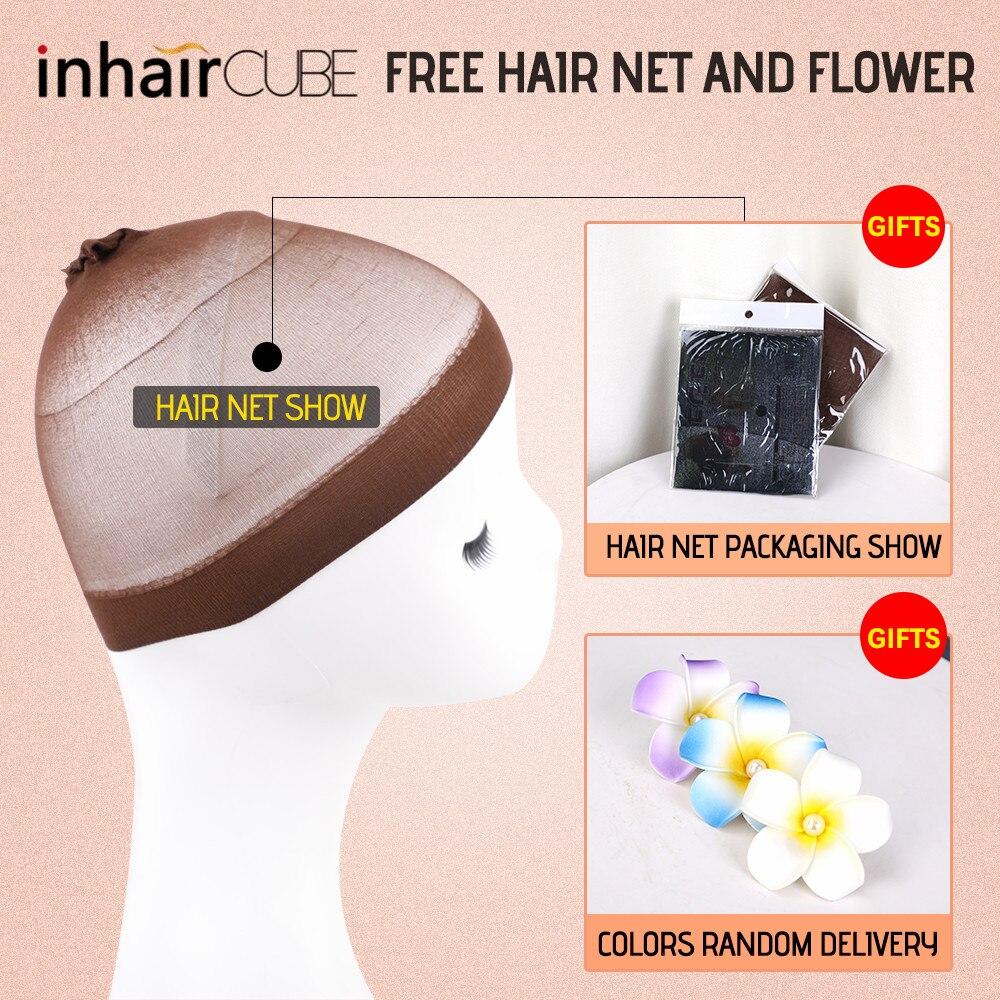 Image 5 - Inhair Cube синтетический плоский челка для женщин парик омбре с выделением короткие прямые волосы боб парик косплей прическа-in Синтетические парики для косплея from Пряди и парики для волос on AliExpress