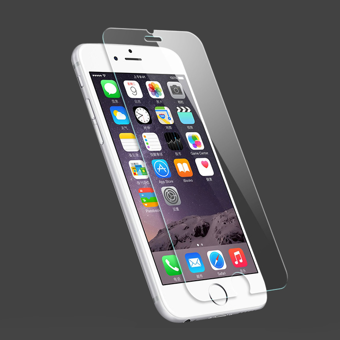 Ultra-thin Tempered for iPhone 6 s screen Protector for iPhone 7 8 Plus X Glass on iPhone 6 Plus Anti-shock Waterproof Dustproof