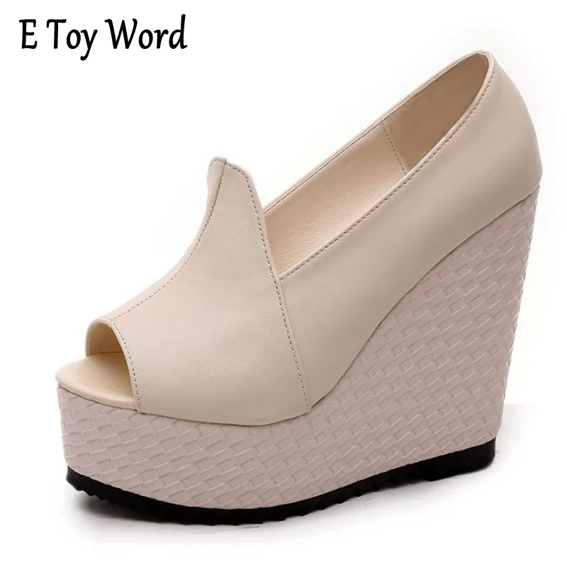 2017 women cover heel summer thick platform fish mouth Roman sandals high-heeled wedges sponge bottom sandals open-toed shoes women sandals 2017 summer gauze high heeled shoes lace fish mouth women sandals fashion summer ankle boots s069