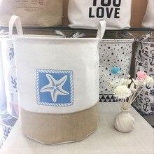 Fabric Cotton Pocket Hanging Holder Storage Bag Rack makeup Cosmetic organizer storage basket box
