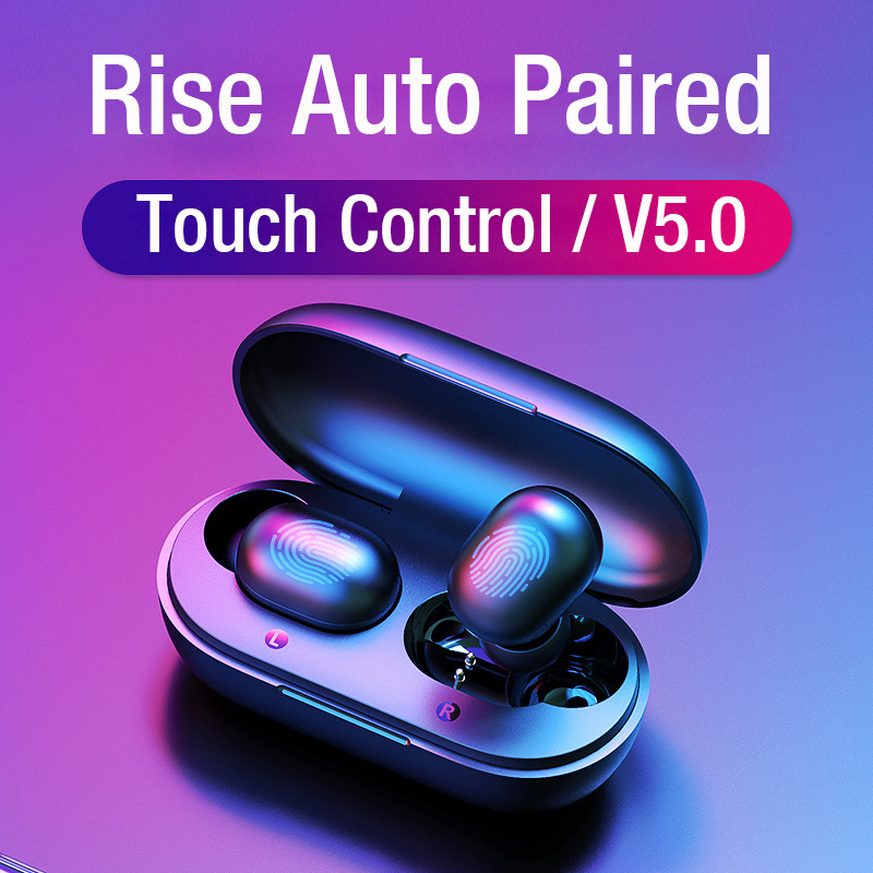 TWS Earphones GT1 PK Redmi AirdotsBluetooth Wireless Headsets In-Ear 5.0 Earbuds HD Mic Handfree For IPhone And Android Phones