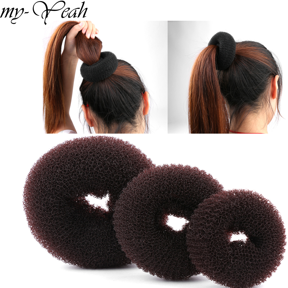 Stylinggeräte 3 Teile/satz S/m/l Magie Shaper Haar Donut Ring Haar Brötchen Maker Französisch Brötchen Hairwear Pferdeschwanz Haar Styling Werkzeug So Effektiv Wie Eine Fee
