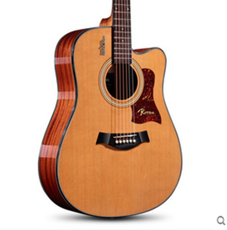 beginner electric box folk rhyme six string wood guitar 41 inch in guitar from sports. Black Bedroom Furniture Sets. Home Design Ideas