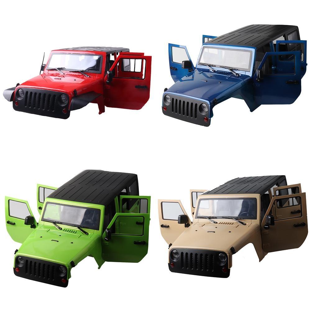 1:10 Car Shells Body Frame 313mm Wheelbase Emulational Climbing Car SCX10 RC4WD D90 D110 Car Shell KIT - 6