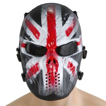 цена на Military M06 Skull Full Face Airsoft Paintball Mask Halloween Party Cosplay Hunting Wargame Army Tactical Masks