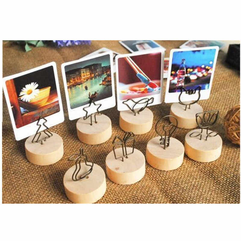 Photo Clip Recipe Holder Table Number Wedding Photo Holder Clip Memo Note Best Friend Art Gift Work Wife Cupcake Fake Sweets