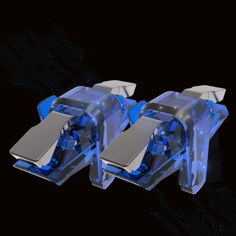 Image 3 - 2pcs X7 Game Controller Gamepad Trigger Aim Button L1 R1 Joystick for PUBG-in Gamepads from Consumer Electronics