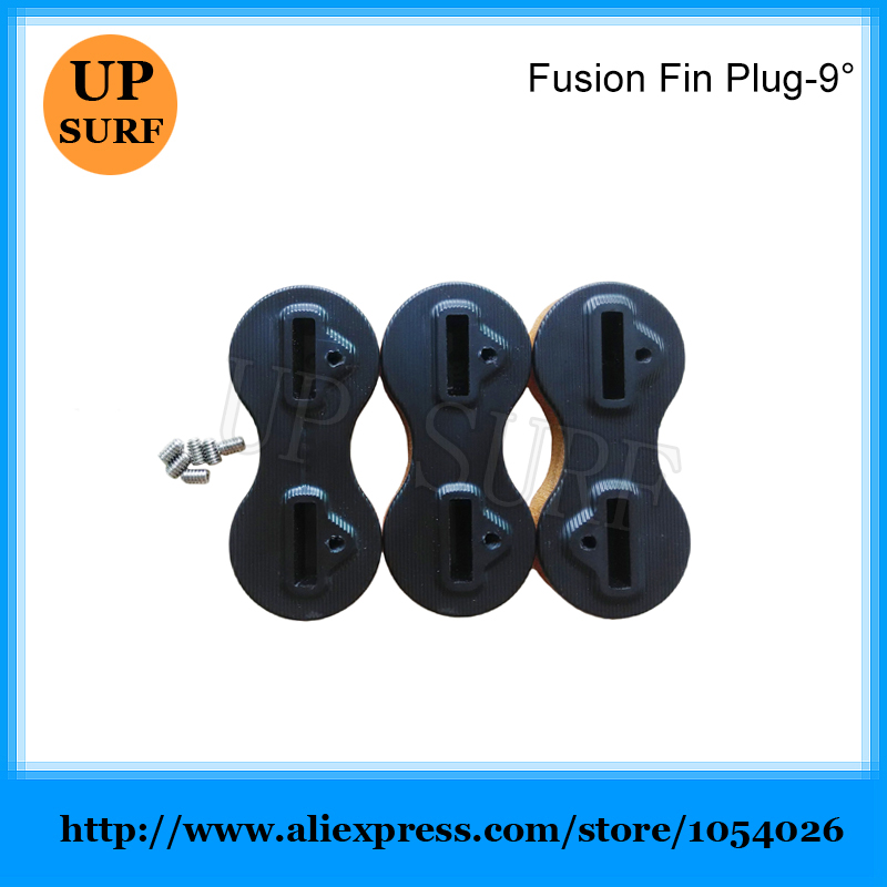 Free Shipping 9 Degree Surfboard Fusion Fins Plug FCS Fin Plug in Surfing from Sports Entertainment