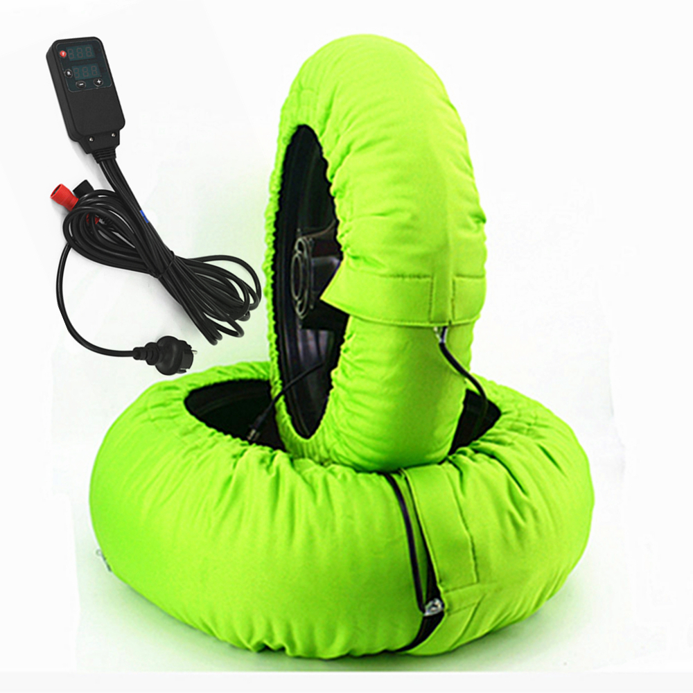 Motorcycle Tire Tyre Warmer Covers Heater with Digital Color Size 120/200 Customized 2pcs d2 with 2 temperatures tyre warmer color