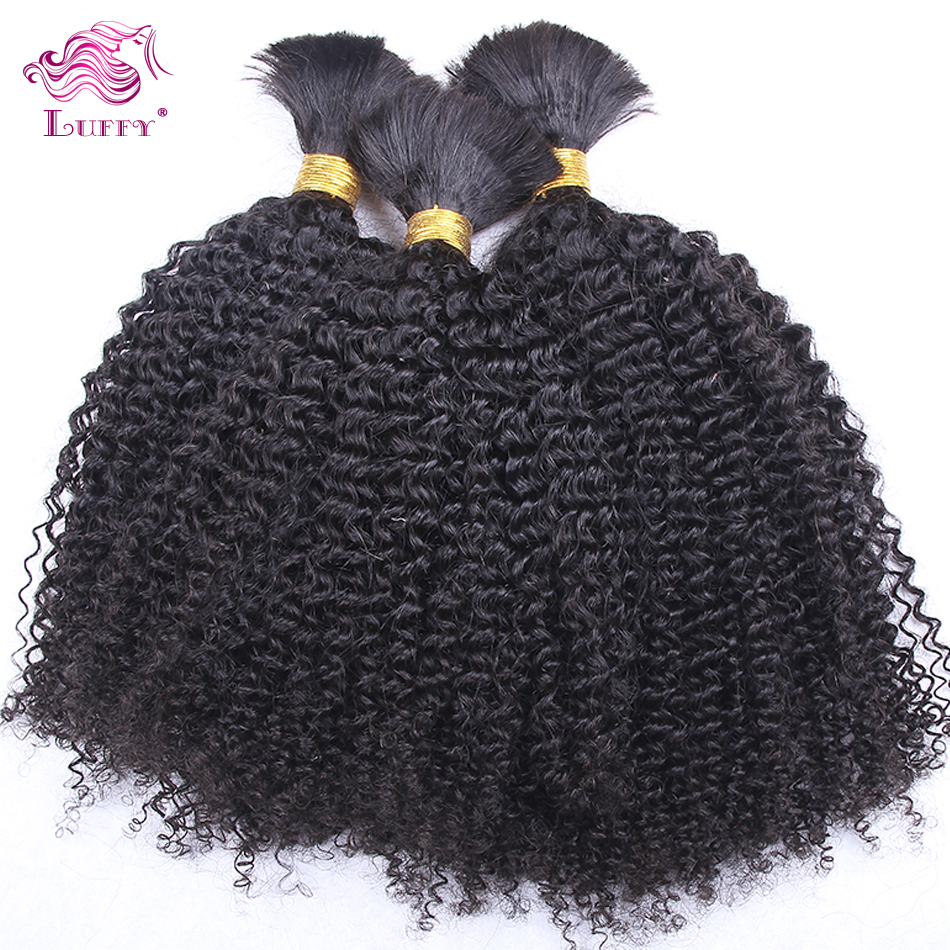 Top Quality 6A Mongolian Kinky Curly Virgin Hair Bulk