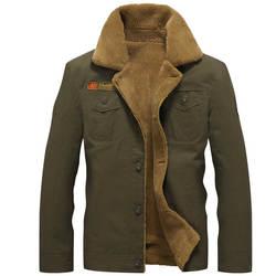 2018 зимние Курточка бомбер Для мужчин ВВС Пилот MA1 куртка теплая мужской меховой воротник Для мужчин s армии тактические флисовые куртки