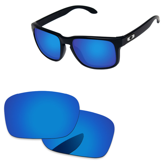 4058f06191f00 Deep Blue Mirror Polarized Replacement Lenses For Holbrook Sunglasses Frame  100% UVA   UVB Protection