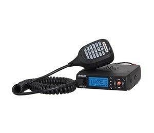 Image 3 - Baojie BJ 218 Mini Auto Walkie Talkie 10 km 25 w Dual Band VHF/UHF 136 174 mhz 400  470 mhz 128CH Ham Mobiele Radio Station + USB Kabel