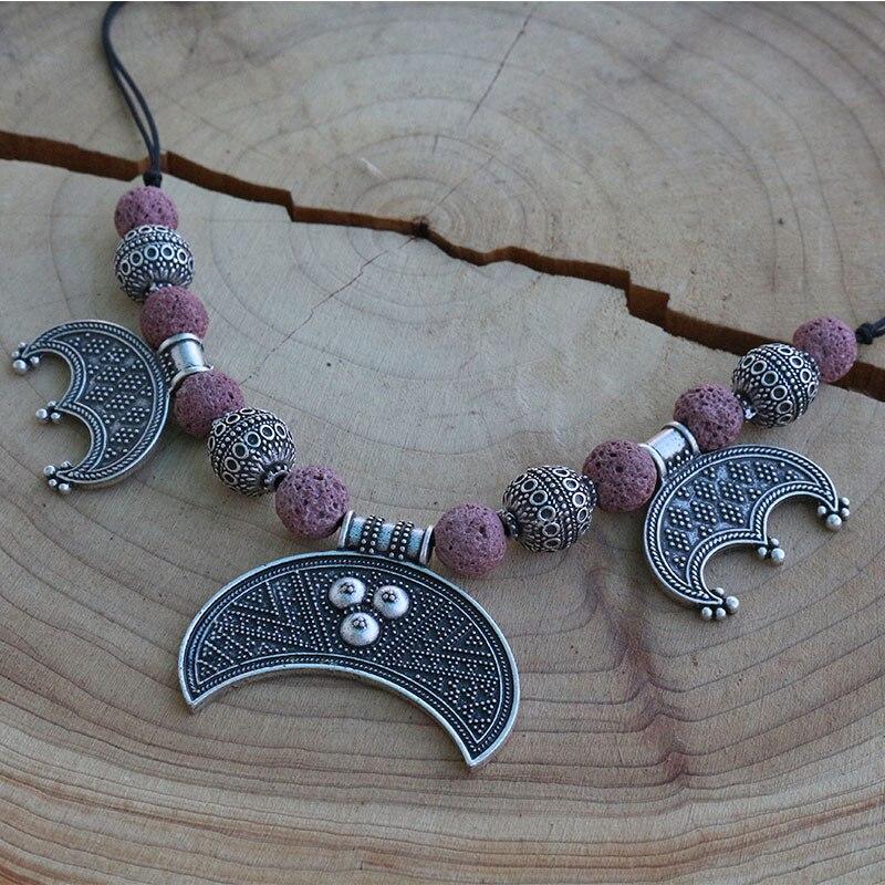 5pcs Wholesale Norse Slavic Lunula Woman s Necklace Viking Dress Lunula Jewelry For Charm Women MORAVIA