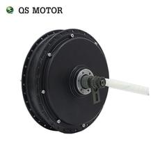 Двигатель QS спица велосипедного колеса мотор 3000W 205(50 H) V3 Тип мотор для центрального движения 48В/60В/72В 80KPH