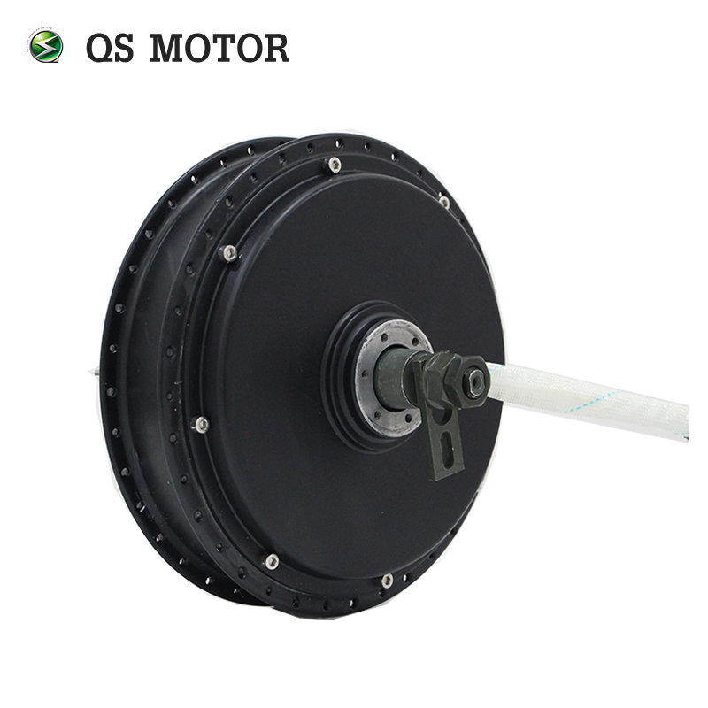 QS Motor Bicycle Spoke Motor 3000W 205 (50H) V3 Type Hub Motor 48V/60V/72V 80KPH 96V 90-100KPH 24 Hour Ready Shipping