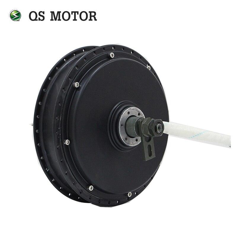 QS moteur vélo moteur à rayons 3000 W 205 (50 H) V3 Type moteur de moyeu 72 V 80KPH