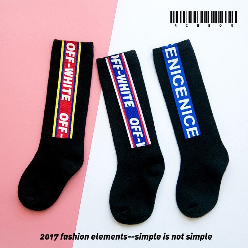 Kids Funny Happy Socks Girls Age 3-9y Knee High Long Sport Meias Cotton Meia  Calcetines Sokken Calze Sock Socken Cheap Stuff
