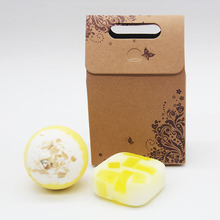 Tsing Bath bomb 120g  Natural bath bombs jasmine Handmade Soap 100g Bubble Set soap SPA Gift Scented