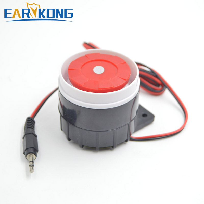 Free Shipping High Decibels Alarm And Wireless GSM Alarm System Universal Anti-theft Alarm Horn Accessories Alarm Siren