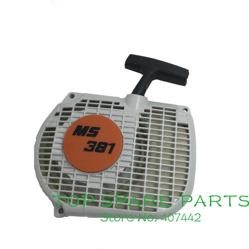 Anwurfvorrichtung Starter adecuado para Stihl MS 200 Stihl 020 t ventiladores carcasa
