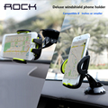 Rock Mobile Phone Car Holder Stand Adjustable Support 6.0 inch 360 Rotate For Iphone 7 6 Plus 5S For Samsung Note 5 S5 S6 S7Edge