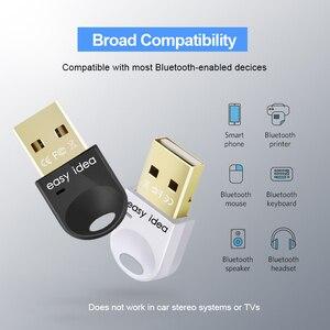 Image 3 - Không Dây USB Bluetooth 5.0 Adapter PC Bluetooth Dongle 4.0 Mini Bộ Thu Âm Thanh Bluetooth Tốc Độ Cao Bộ Phát Cho Máy Tính PC