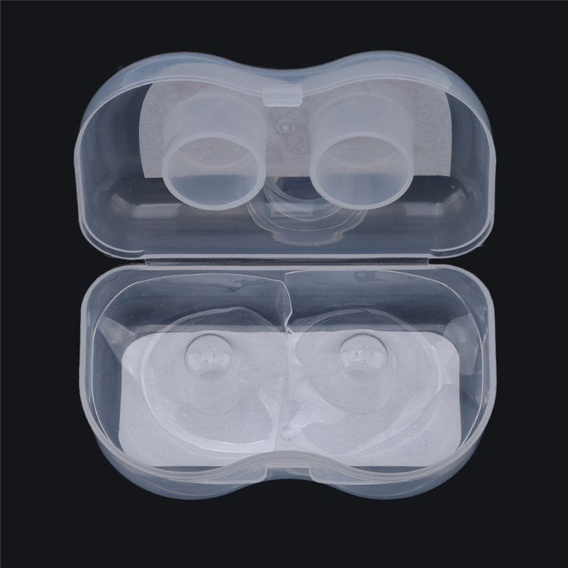 New Hot High Quality Pregnant Woman Silicone Nipple Shield Silica Gel Nipple Protector Baby Breast Milk Feeding Two Per Box