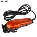 Kemei 110-240 V Del Hogar Trimmer Clipper Corte de Pelo Con Cable Profesional Clásico para Hombres Máquina De Corte con 4 Peines 193