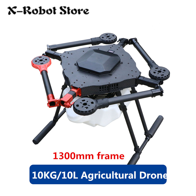 DIY 4 axis Spray pump Agriculture drone 1300mm frame / 10KG/10L spraying gimbal system 1300mm Wheelbase Folding UAV Quadcopter-in Parts & Accessories from Toys & Hobbies    1