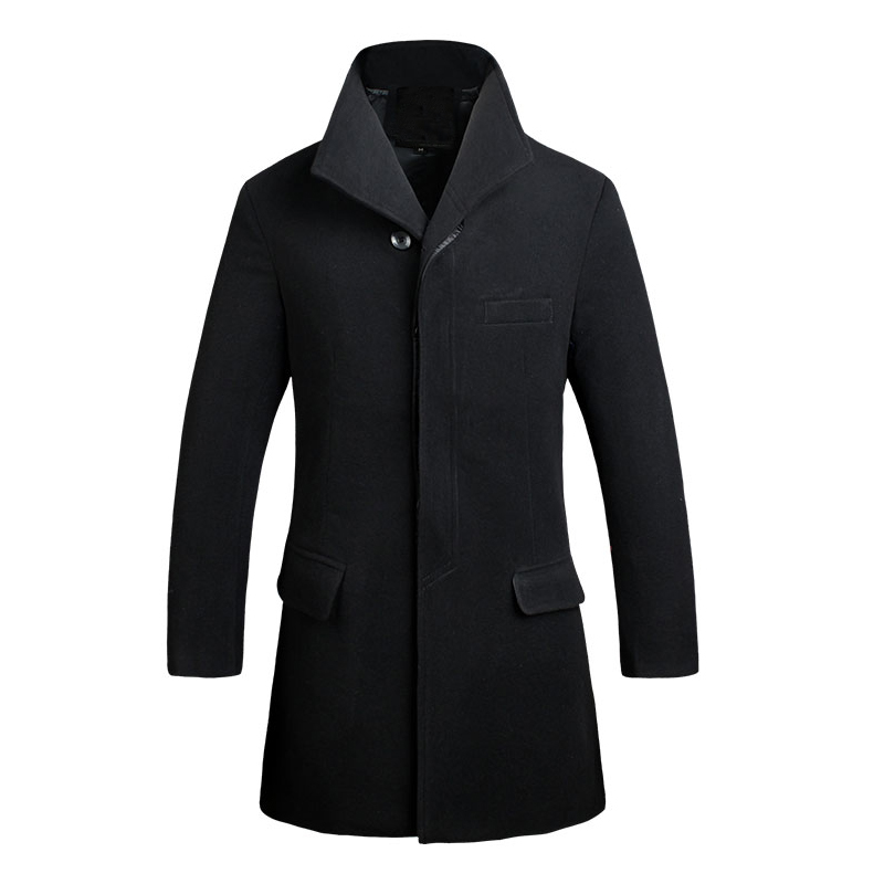 Popular Single Breasted Pea Coat-Buy Cheap Single Breasted Pea ...